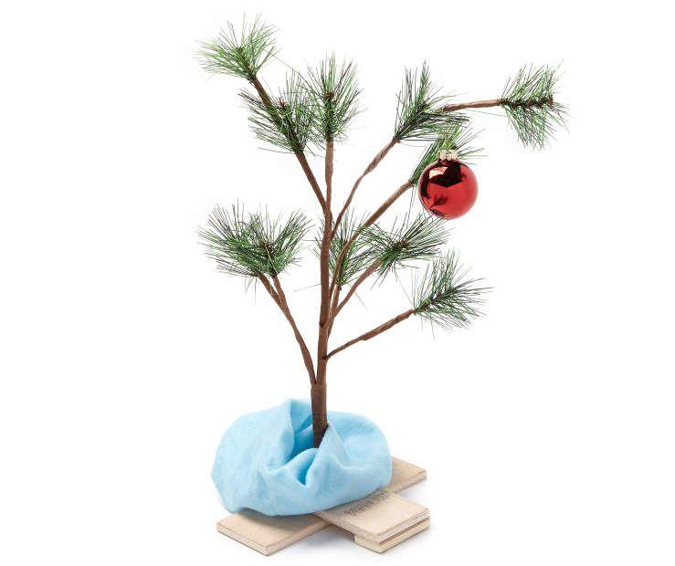 Peanuts Charlie Brown Christmas Tree, (18\