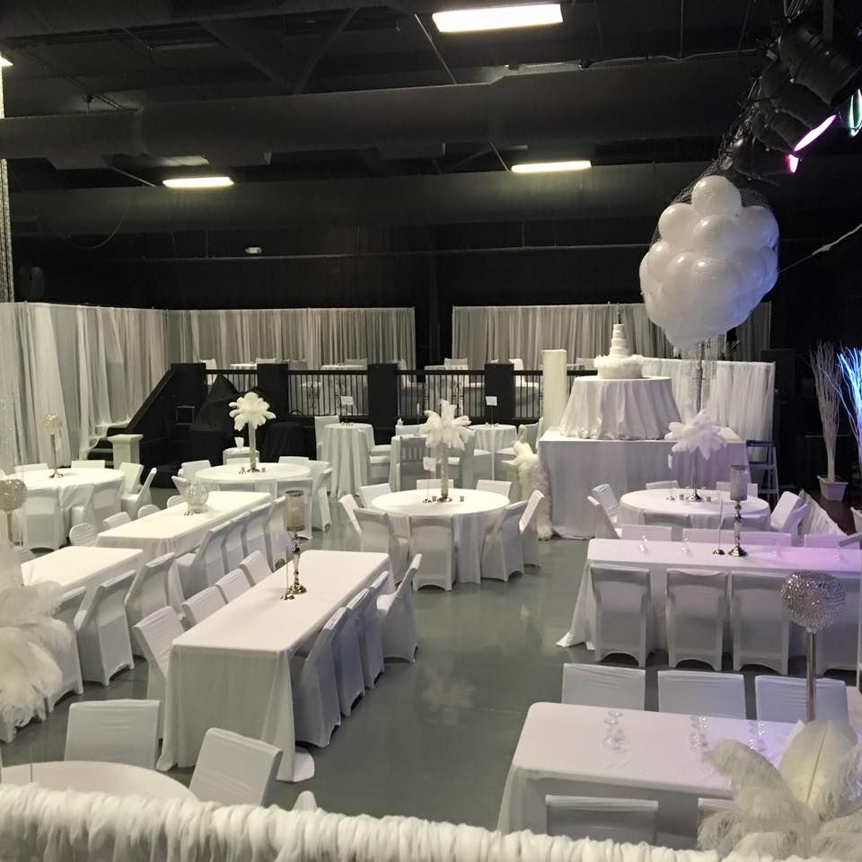 All white party white party decorations elegant party Rocias
