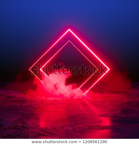 3d Render Abstract Background Square Portal Red Neon Lights Virtual Reality Glowing Lines Pink Blue Ult In 2021 Abstract Backgrounds Abstract Stock Illustration