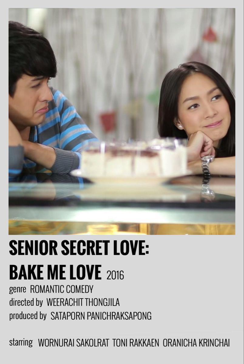 Senior Secret Love Bake Me Love Polaroid Poster Film Film Animasi