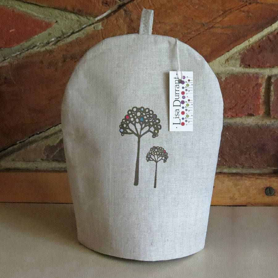 blossom tree coffee cosy by lisa durrant