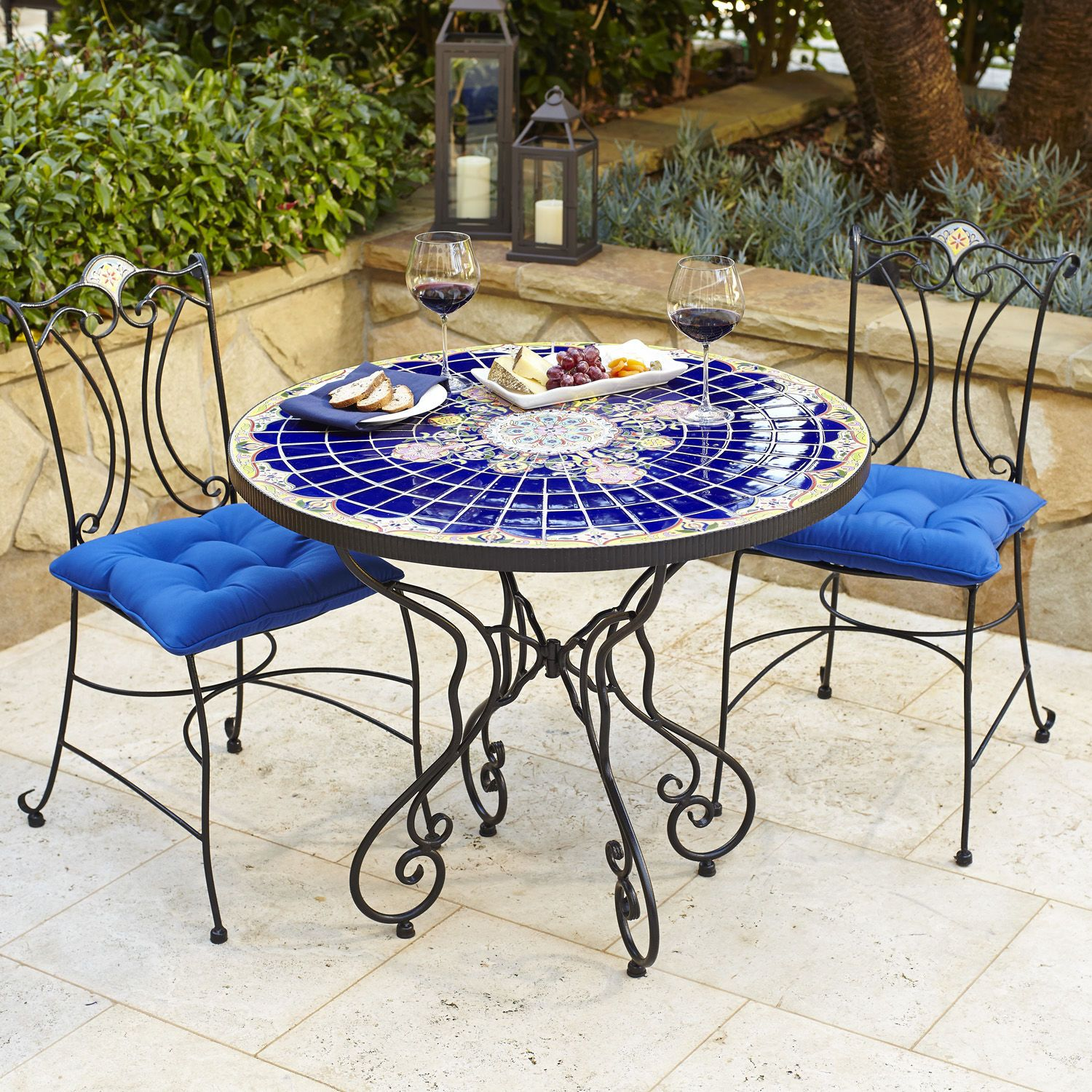 rania 36 blue round dining table a girl can dream future home rh pinterest co uk