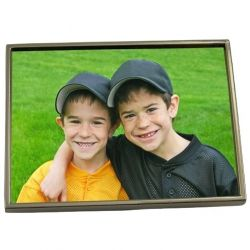 Belt buckle is easy to make with a custom picture.