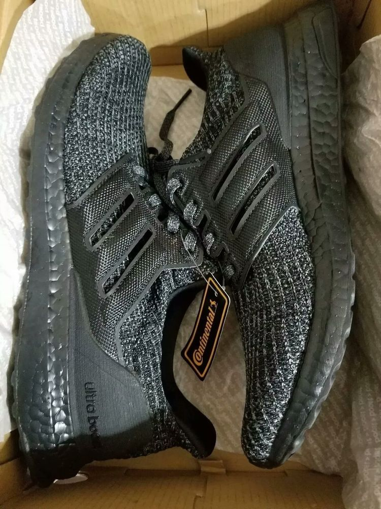 fc23eed295306 Adidas Ultra Boost Ultraboost 4.0 Triple All Black BB6171 Size 11  fashion   clothing  shoes  accessories  mensshoes  athleticshoes (ebay link)