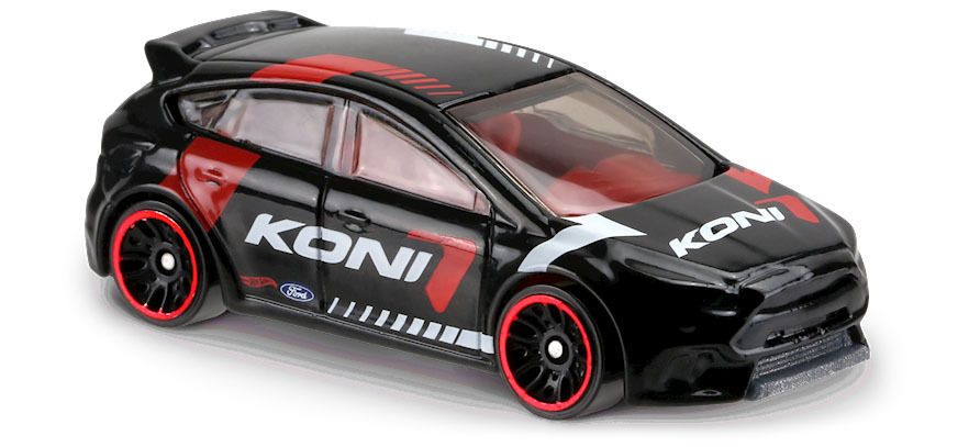 Hot Wheels 2017 Hw Speed Graphics Ford Focus Rs Black Koni Racing Dvb62 Hotwheels Ford Hot Wheels Ford Focus Rs Ford Focus