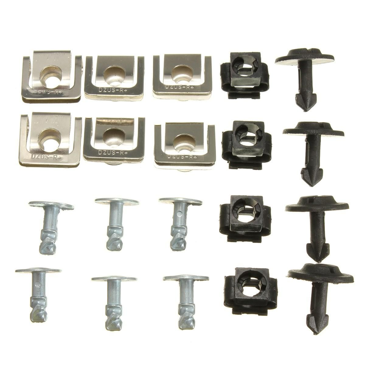 Set Undertray Guard Engine Under Cover Fixing Clips Audi A4 Audi Fittings