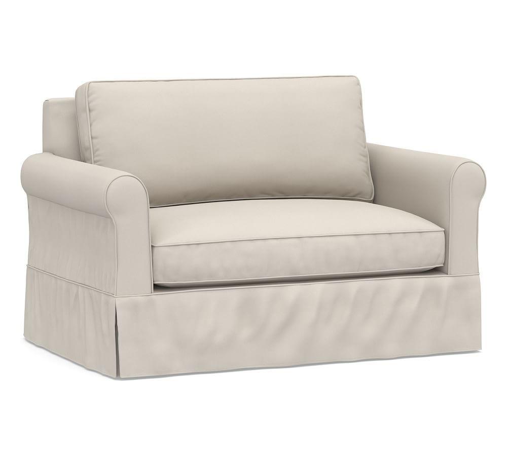 cameron roll arm armchair slipcover performance everydayvelvet tm rh pinterest com