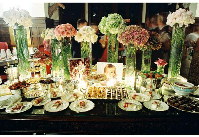 Credit Stunning floral centerpieces on wedding reception dessert tableNerine s blog  This unique diamond fashion trio designer wedding  . Flower Centerpieces For Wedding Reception. Home Design Ideas