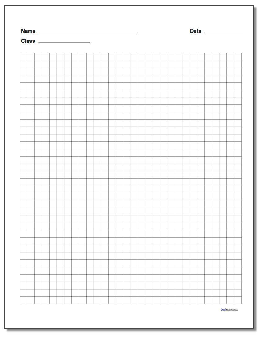 Free printable graph paper in MANY dimensions, with and