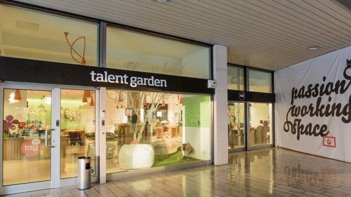 Office Tour: Talent Garden – Brescia Coworking Office   coworking ...