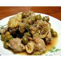 Marokkanisches Olivenhuhn