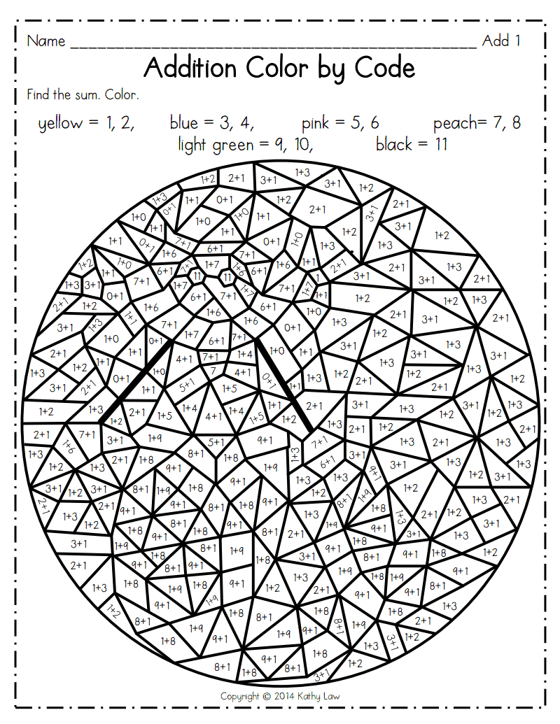 medium resolution of Addition CBC.pdf - Google Drive   Math coloring