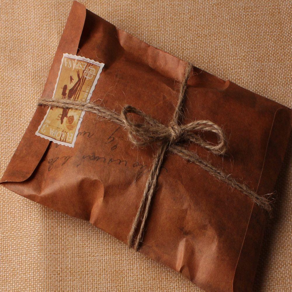 brown card for wedding invites%0A   Pcs Lot      cm Vintage Old Style Paper Envelope Brown Kraft Paper Bag  For  Invitation CardsParty InvitationsWedding