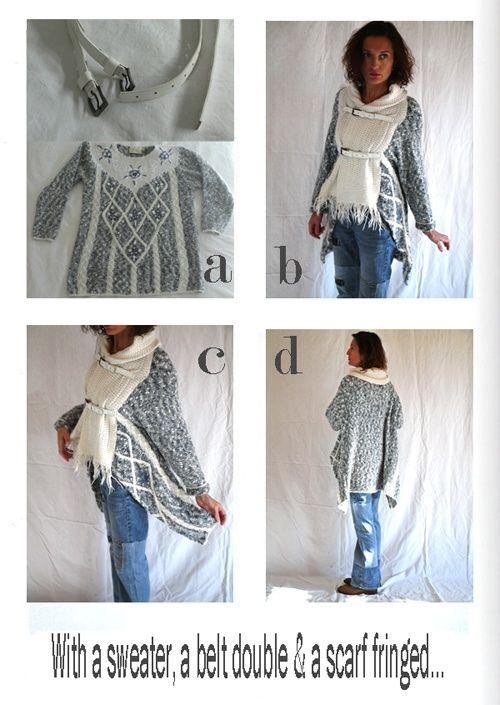Что можно сделать из старых шарфов? 96