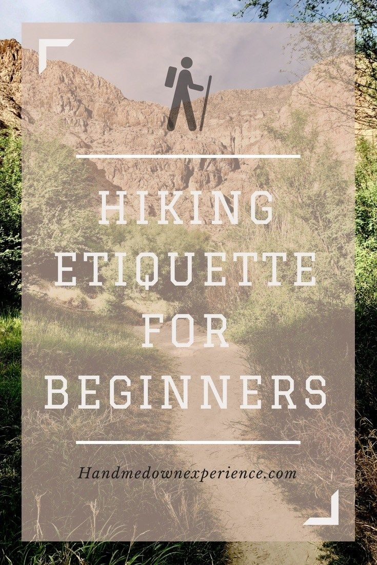 Photo of Hike Etiquette for Beginners