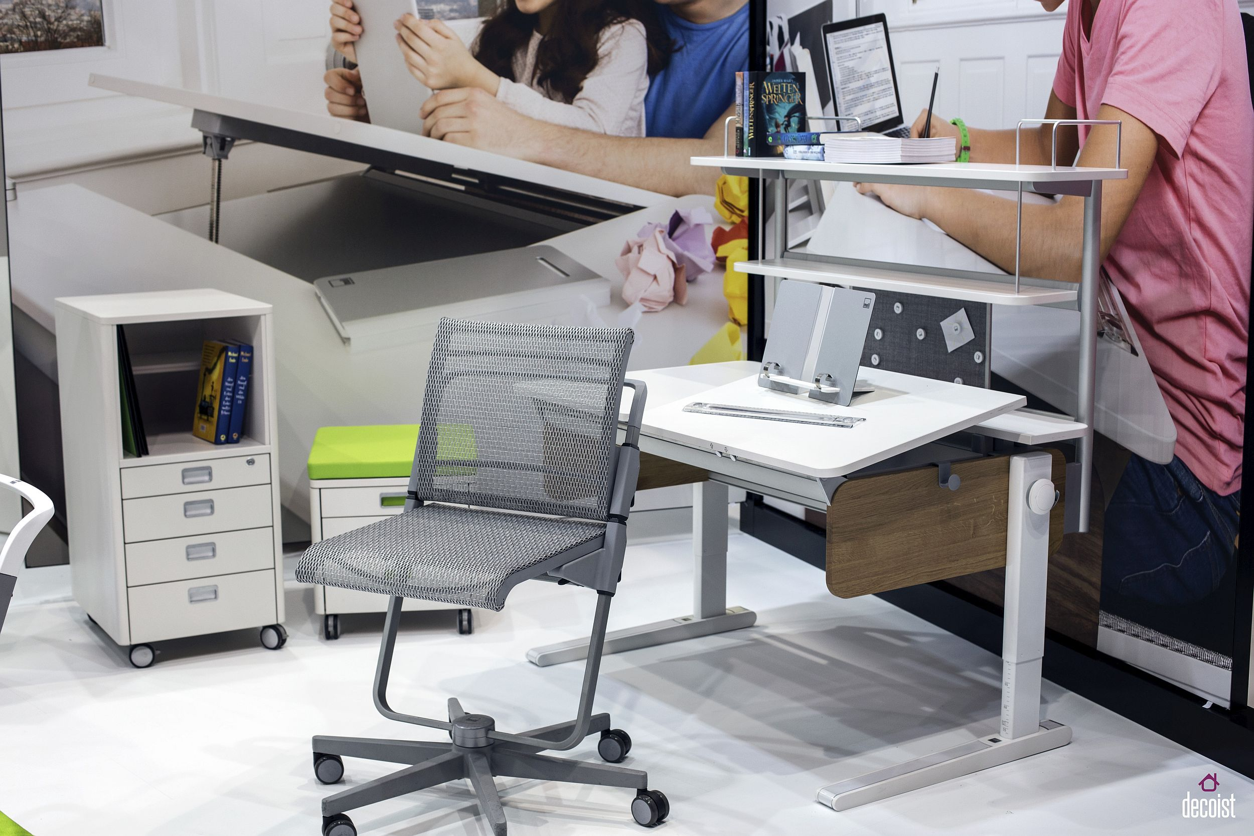 fabulous finds 15 work desks for a trendy home office hauses rh pinterest ch