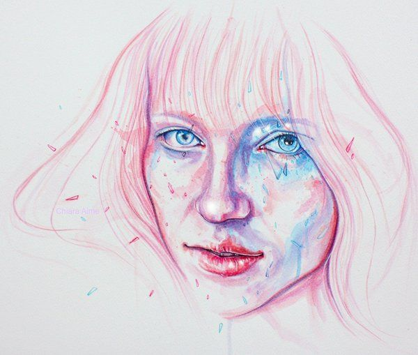 Learn How to Paint Watercolor Hair in 5 Easy Steps