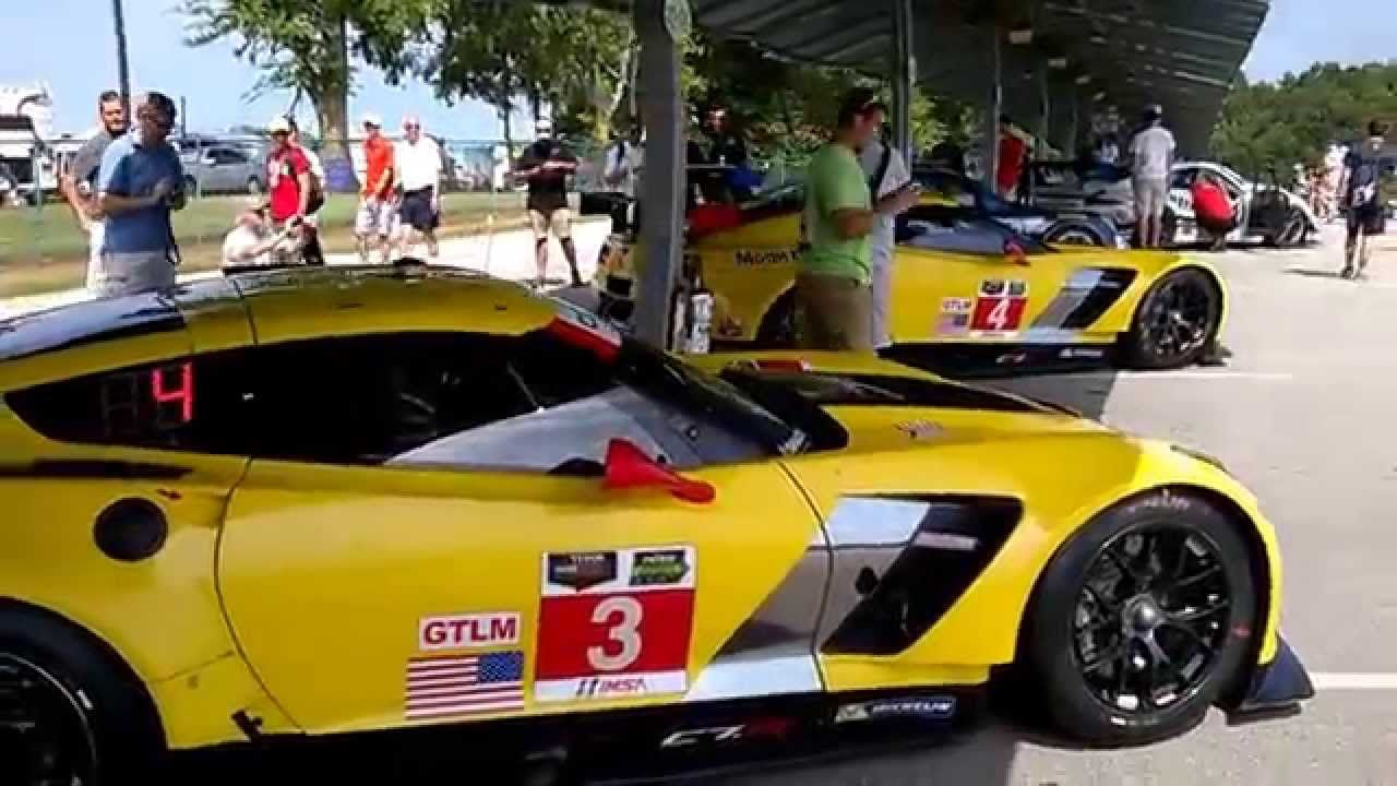 loudest exhaust corvette c7 r steals the show vir tudor 8 2015 rh pinterest com