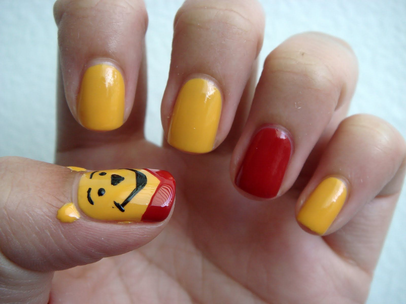 Nail Scrapbook: Nail Art: Disney Series (Winnie the Pooh Bear ...