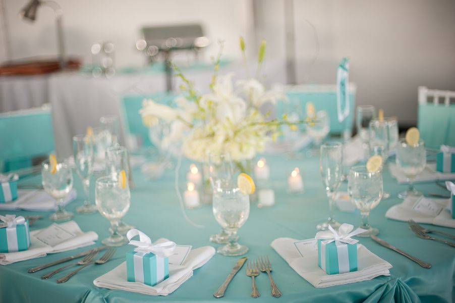 Blue And White Maryland Wedding Decor Meaghan Elliot Photography Chesapeake Bay Reception Kelly Robert