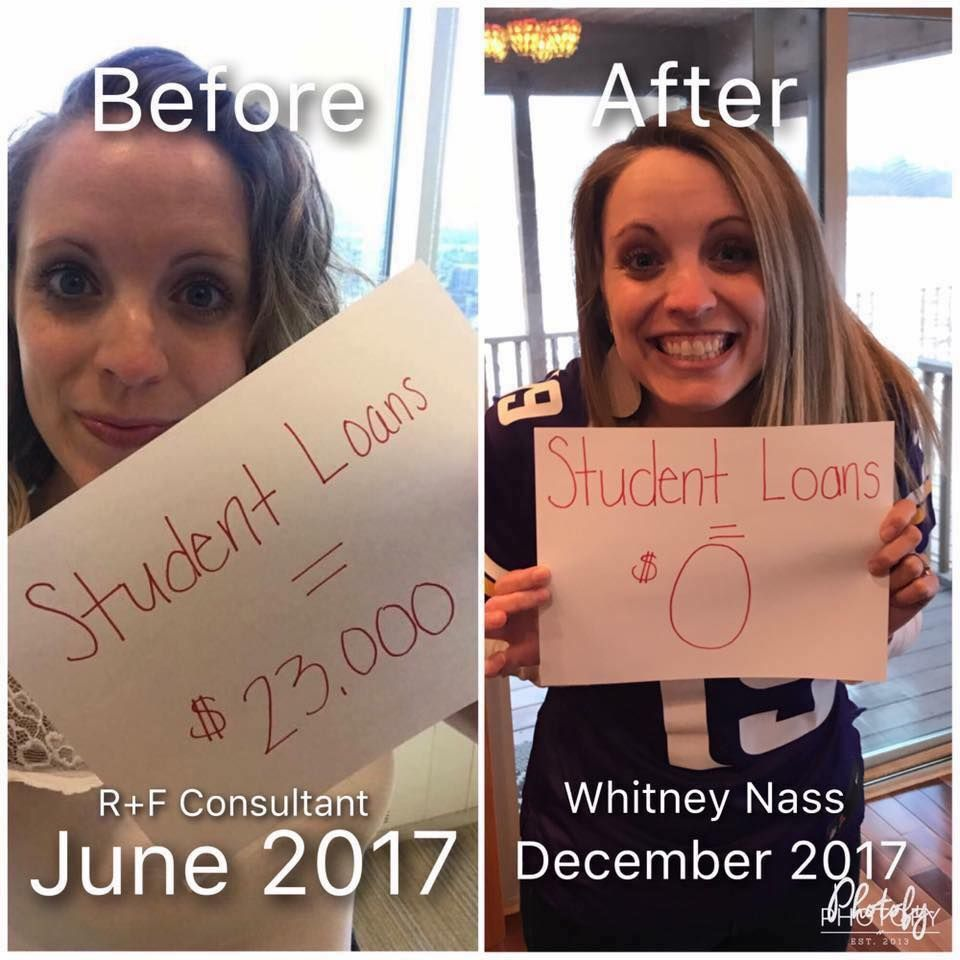 514ee867cb0 This my fellow consultant, Whitney Nass! This will be me one day!  #GoalGetter #DebtFree