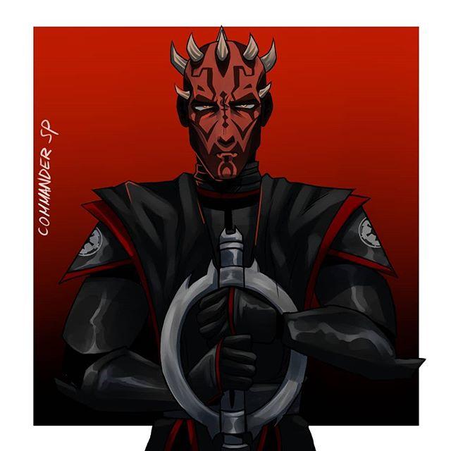 Inquisitor Maul Art By Commander Sp On Instagram Darth Maul Clone Wars Star Wars Images Darth Maul Art