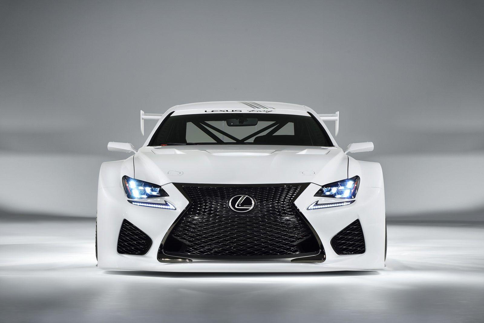 Rennsport: Lexus RC-F GT3