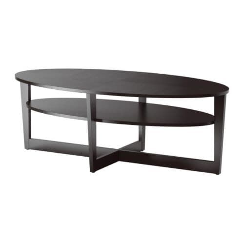 vejmon coffee table black brown alec cedar crest pinterest rh pinterest com