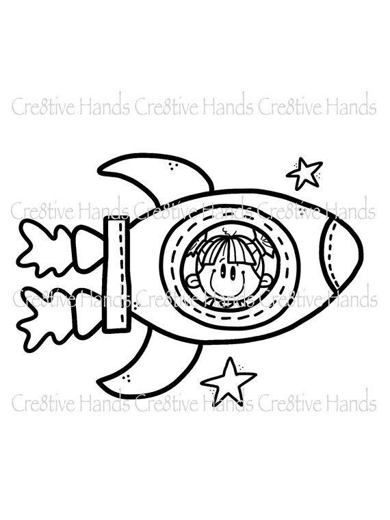 Descargar Instant Digital Digi Stamp Nave Espacial Chica
