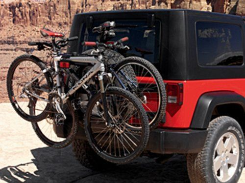 Review Of The Thule Spare Me Spare Tire Mount Bike Rack On A 2012