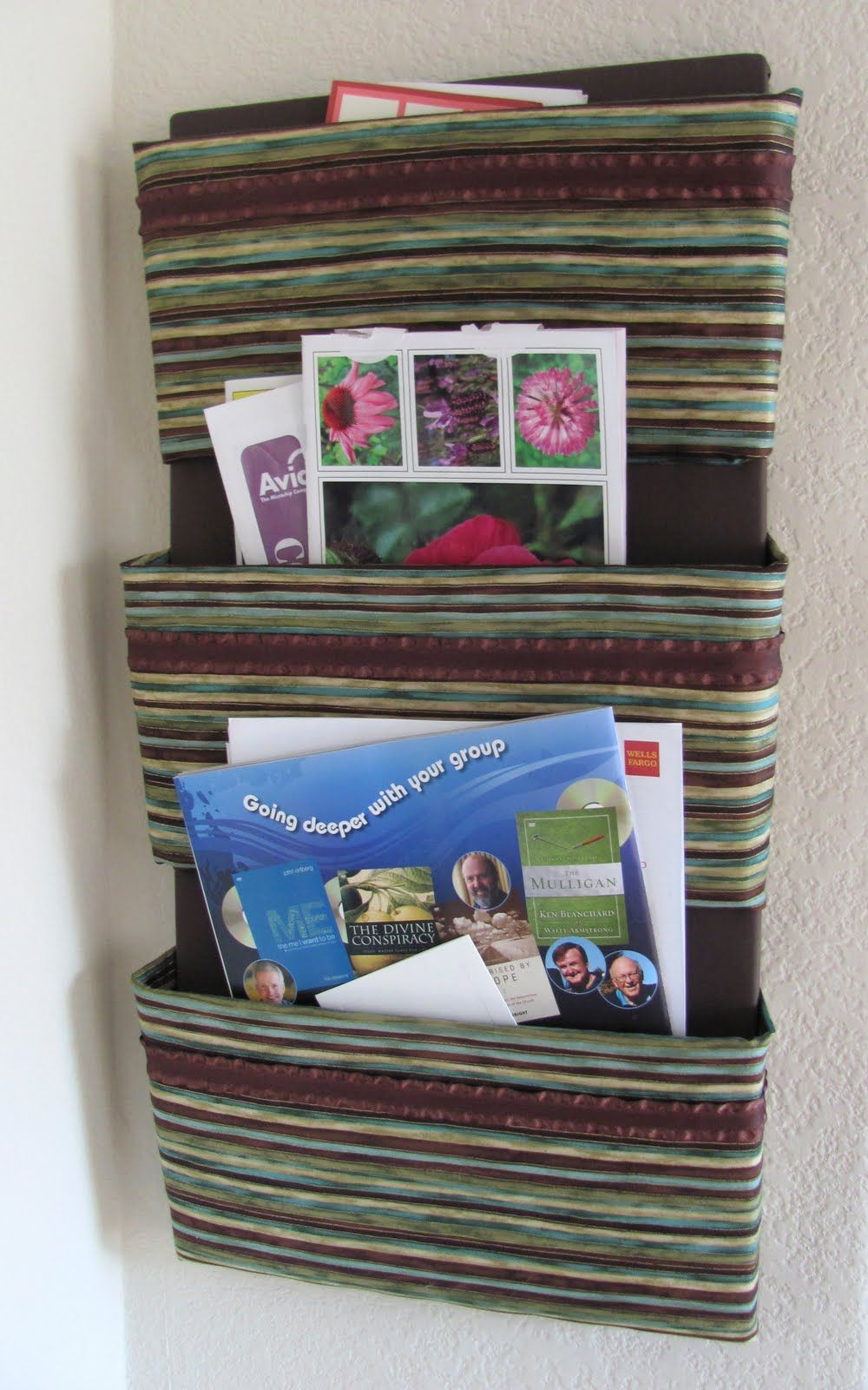 Uncategorized The Fabric Organizer i dont like the fabric but instructions are very helpful helpful