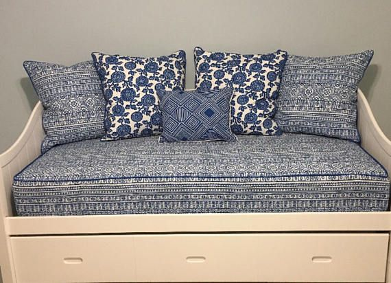 Fitted Daybed Cover With Cording Piping In Twin Twin Xl Or Etsy Daybed Covers Mattress Covers Daybed Mattress Cover