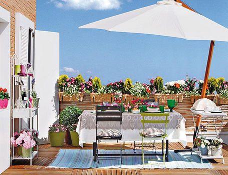 Decoraci n m laga cuqui gonz lez terrazas para for Malaga decoracion