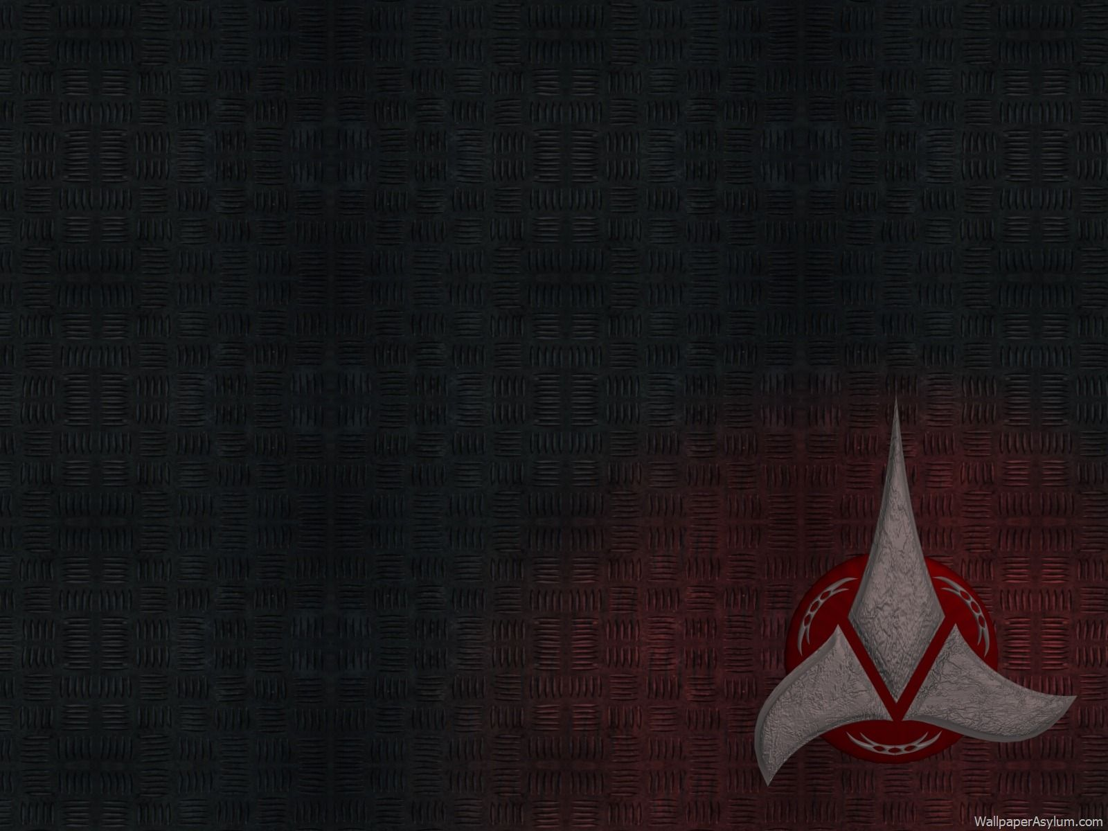 klingon enjoy this klingon wallpaper with the logo