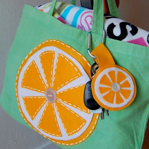 I Love to Create - Slice of Citrus Tote | Tuity Fruity DIY