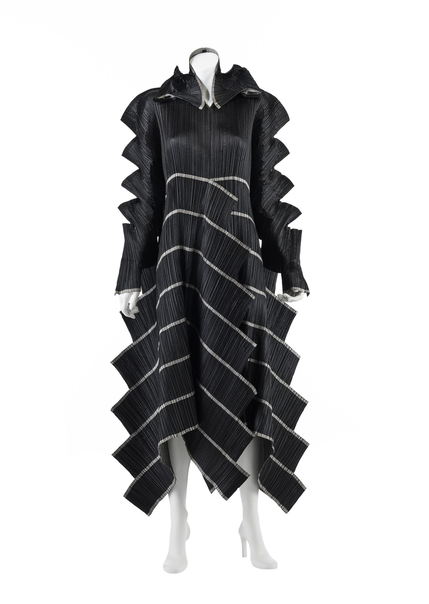 Dress Staircase Pleats Issey Miyake Japanese Fashion Designers Fashion Japanese Fashion