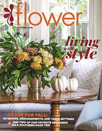 Flower Magazine Wedding Flowers Pinterest Magazines Flower