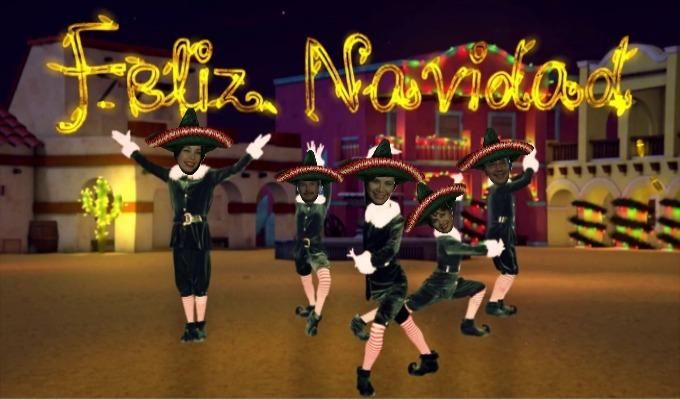 Elfyourself Shared A Dance Video Elf Yourself Dance Videos Friend Christmas