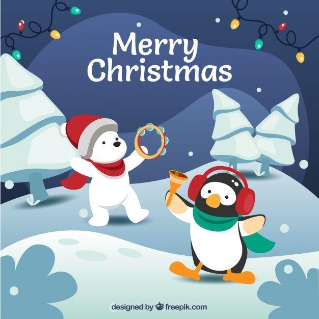 Merry christmas background Free Vector Noel Pinterest Merry