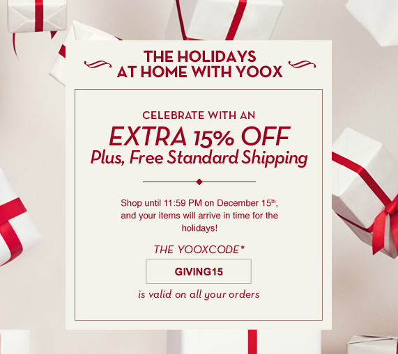 yoox.com Coupon Codes & Promo Codes – A yoox.com coupon provides you