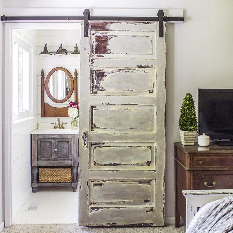 Delightful 15 Inspirations Pour Recycler Une Porte Ancienne   Joli Place