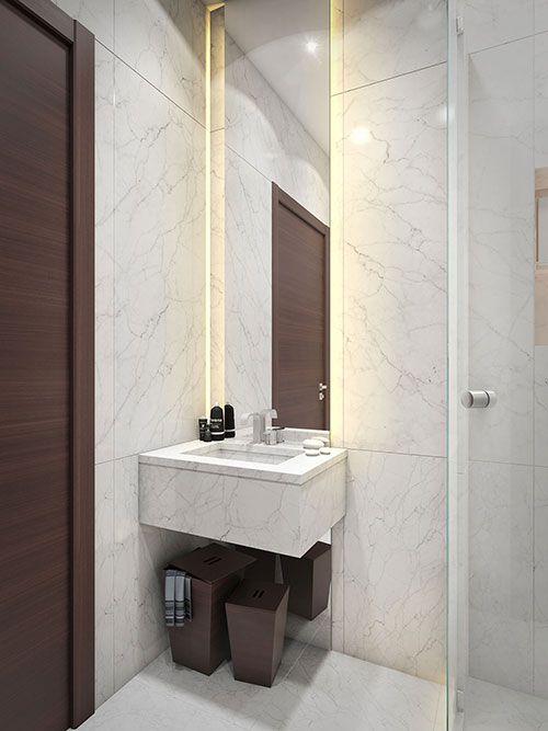 Inspiratie voor een kleine badkamer | Bathroom/badkamer | Pinterest ...