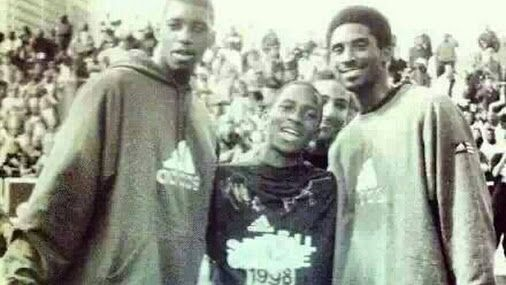 Can you name who is in the middle of Kobe and Tracy??