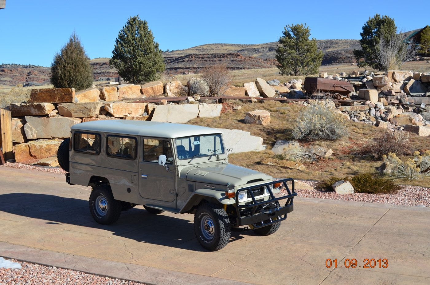 spotted rhd dual fuel 1984 land cruiser fj45 troopy for sale rh pinterest com