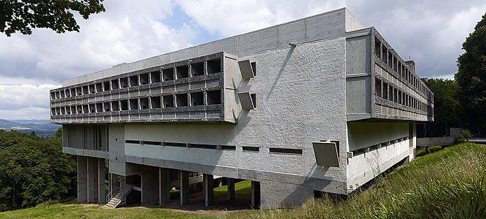 Le Couvent Sainte-Marie de la Tourette (near Lyon), Le Corbusier, 1960