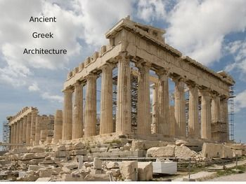 greek architecture ancient greek architecture and social studies