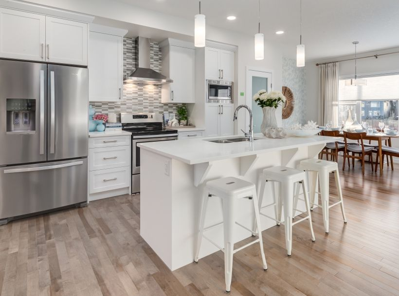 dream kitchen alert gorgeous white and gray colours french door rh pinterest com