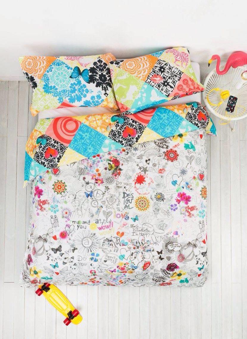 Funda Nordica Desigual Japanese.Desigual Bedding Bedding Bed Bedroom Blanket
