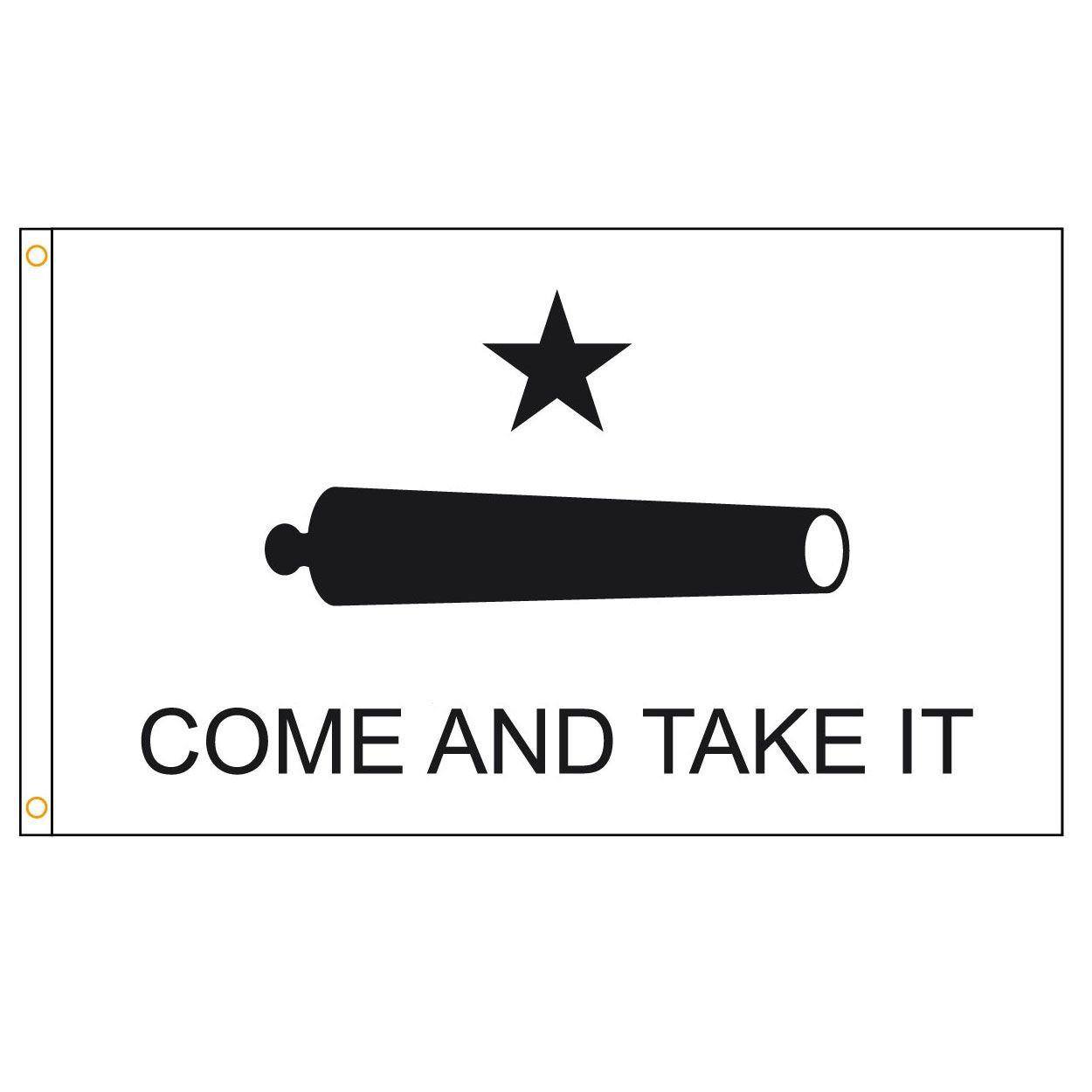 Come And Take It Flag Gonzales Battle Flag Texas Revolution Come Take It Battle Of Gonzales