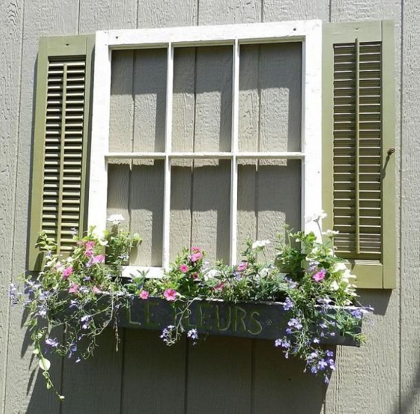 Upcycled Garden Shed Window | Guest cabin, Cabin and Window